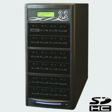 CopyBox 23 SD Duplicator - duplicate sd cards memory cards copy one secure digital flash memory card to many max 23