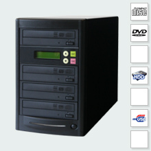 CopyBox 3 DVD Duplicator PC-Connected - usb v2.0 pc connection port allows iso images to be copied onto cd dvd