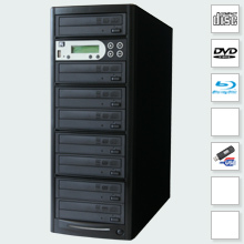 CopyBox 7 Blu-Ray Duplicator - blu-ray duplication system copies without using pc professional quality