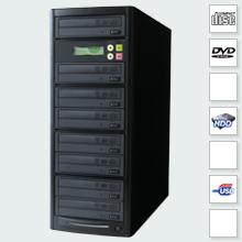 CopyBox 7 DVD Duplicator PC-Connected - cd dvd duplicator usb pc connection built in sata hard drive transfering iso disc images