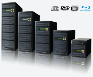 Disc Duplicators - cd dvd duplicator blu-ray bd copiers flash memory usb sd microsd duplication systems